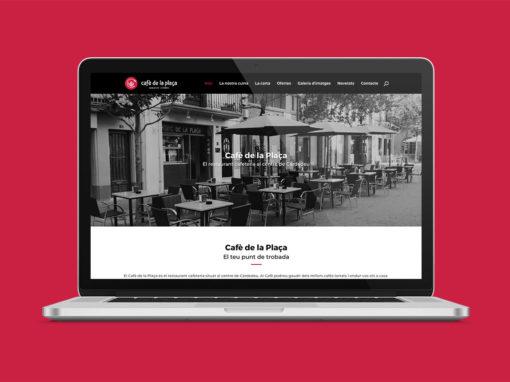 Disseny web Cafè de la Plaça