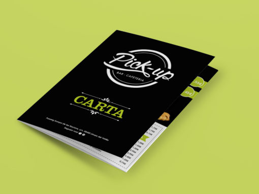 Diseño carta Pick-up
